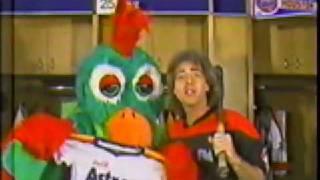 John Lander and Tookie Bird for Astros Buddies