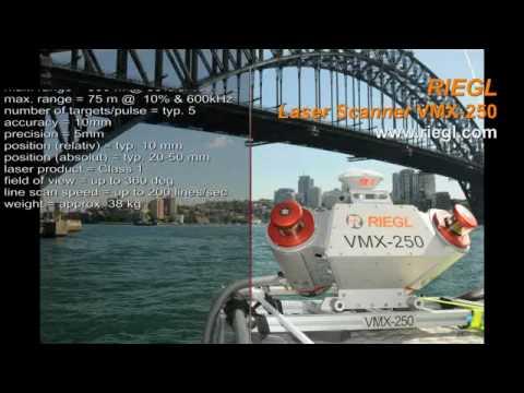 RIEGL VMX-250 Mobile Laser Scanning system