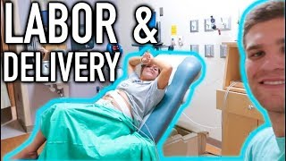 MY WATER BROKE IN HIS TRUCK.. LABOR & DELIVERY PART 1 | Casey Holmes Vlogs