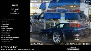 Used 2013 BMW X5 | Rite Cars, Inc, Lindenhurst, NY