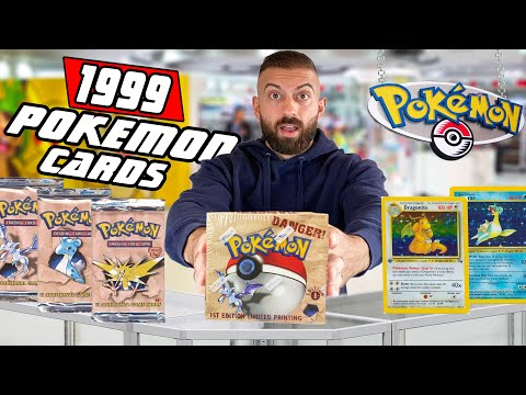 Extremely Rare Pokemon Cards Are Inside...Let's Open It! (1st Edition Fossil)