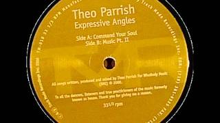 Theo Parrish - Command Your Soul