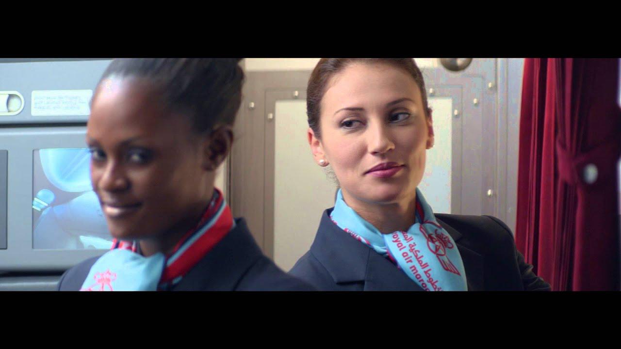 Royal Air Maroc Evolue Pour Vous Youtube