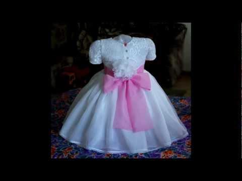 Видео шьем детское платье