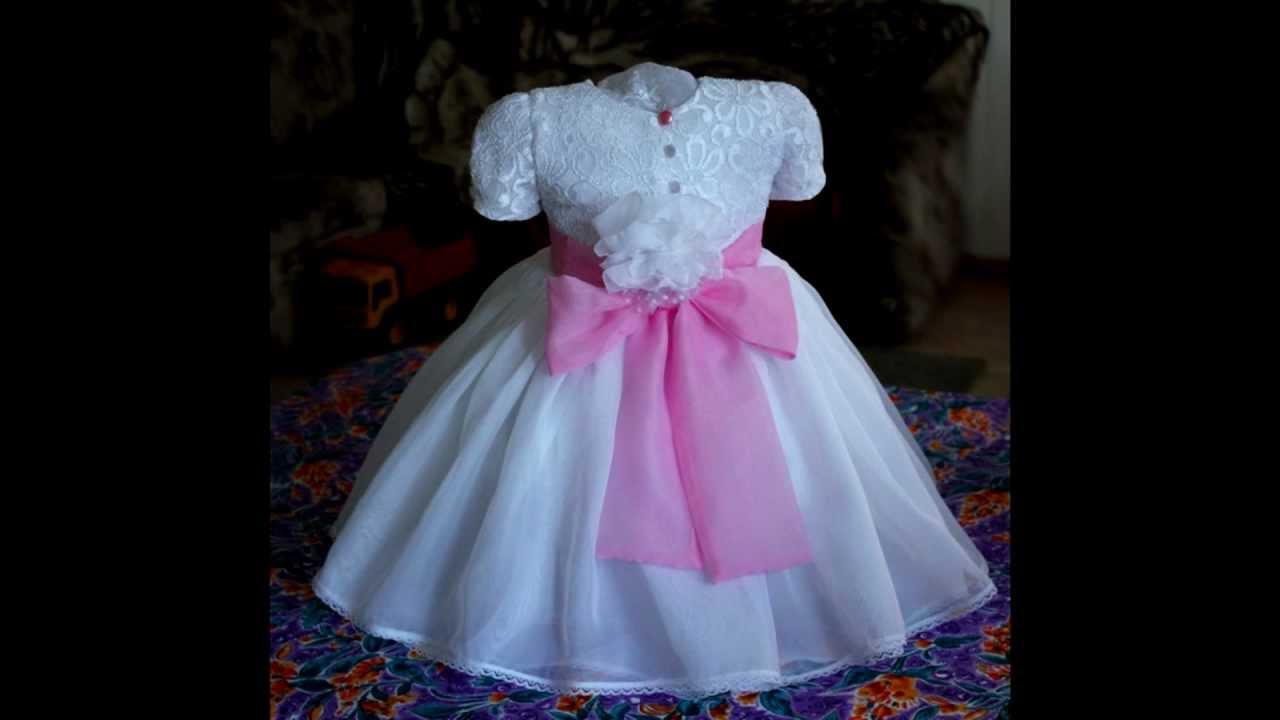 Мастер класс по детским нарядным платьям