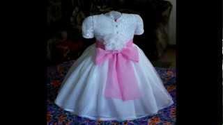 шьем детское платье