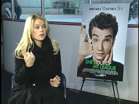 Alice Eve Interview for SHE'S OUT OF MY LEAGUE