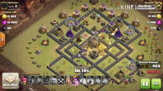 Th9 Goho Strategy Th9|vs|Th9 ⭐⭐⭐| Low level Heroes | Clash Of Clans