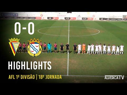 Atlético CP 0-0 FC Alverca B   Highlights