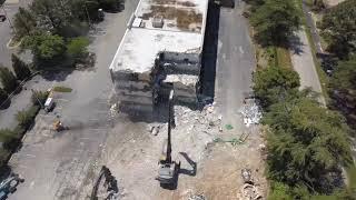 Richmond Hotel Demolition