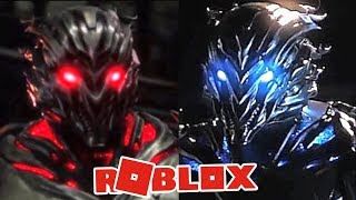 Roblox - ENCONTREI O SAVITAR AZUL E VERMELHO NO ROBLOX! - (The Flash CW Central City)