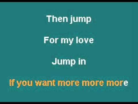 Jump - Pointer Sisters (Female Vocal Option 4)