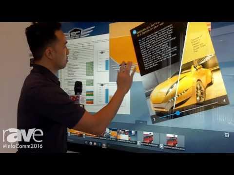 InfoComm 2016: Baanto Exhibits Reactiv STAGE Presentation Tool
