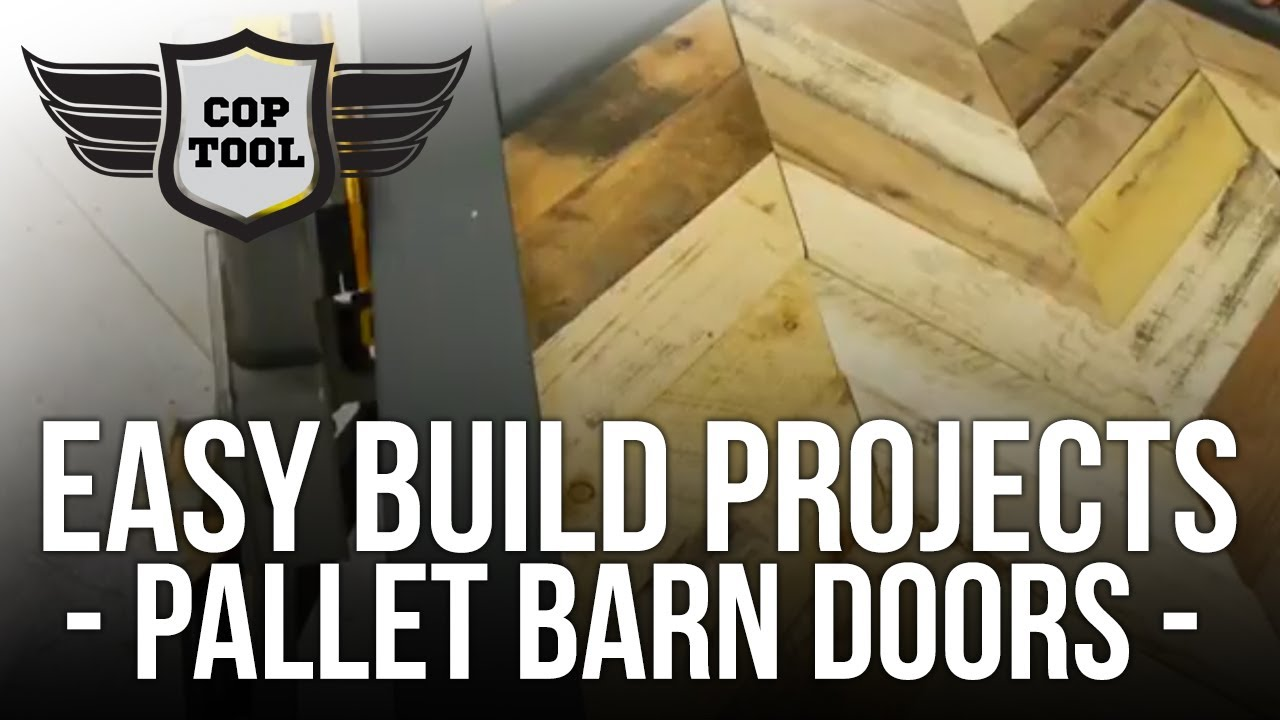 Easy Build Projects Pallet Wood Barn Doors Chevron Or