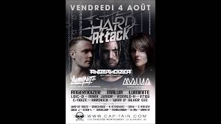 Dj Yann-R At @Cap'tain (B4U) - Hard Attack 04/08/17