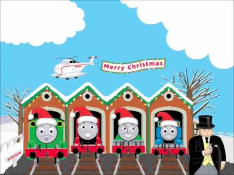 Thomas' Christmas Wonderland DVD Menu - YouTube