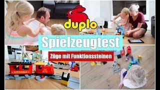 Neue LEGO Duplo Eisenbahn 🚂 | Spielzeugtest mit den Kids | Isabeau