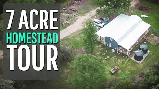 7 Acre Homestead Tour {Spring Drone Coverage}