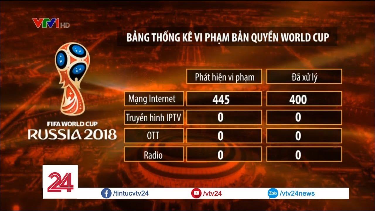 Vi phạm bản quyền quá nhiều, người hâm mộ Việt Nam có thể không được xem trận Chung Kết WC 2018