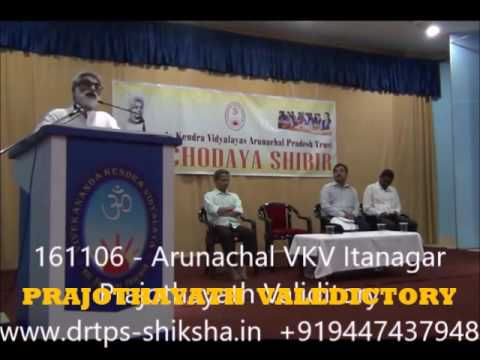 161106 DrTPS VKV Valedictory