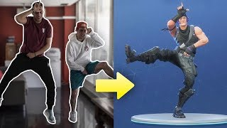 FORTNITE BAILES IN REAL LIFE ft. WIDLER , C'EST MOI !