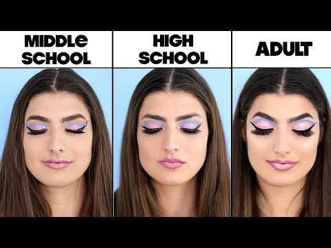 4 Levels Of Makeup: Middle School To Adult
