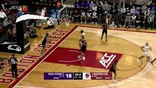 Men's Basketball:  High Point Highlights (Nov. 13, 2019)