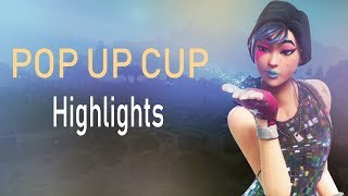 26 POINTS POP UP CUP WITH CONTROLLER (fortnite highlights) #ChronicRC