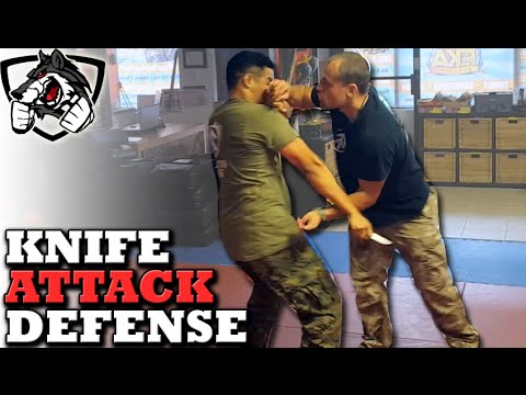 Knife Defense: How to Defend Against a Knife Attack