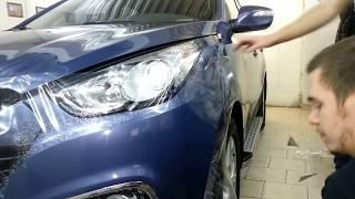 Защитная пленка на автомобиль. Zavinilim.ru(http://www.zavinilim.ru/menu/68/ - нанесение антигравийной ПВХ пленки ORAGUARD 150 микрон, на передний бампер автомобиля., 2013-11-29T10:05:06.000Z)