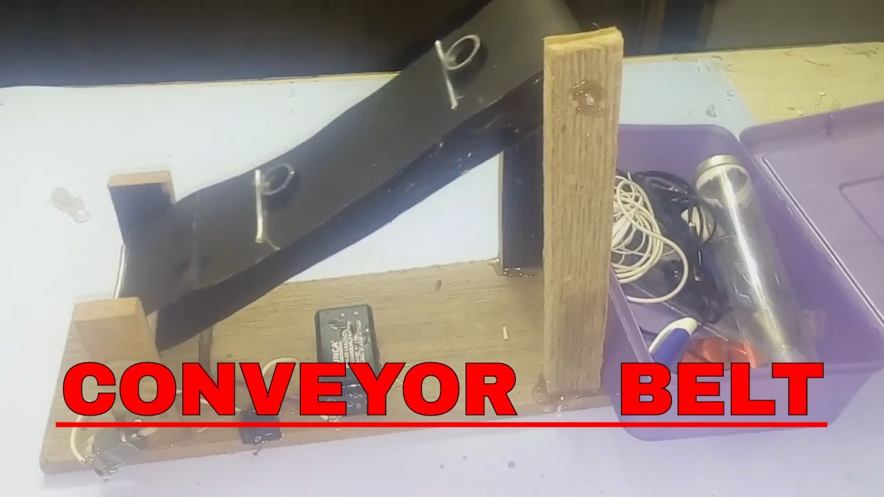 HOW TO MAKE A CONVEYOR BELT || DIY || EASY PROJECT