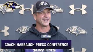 John Harbaugh on How Eric Weddle Will Affect the Game | Baltimore Ravens