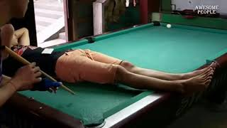 🎱🔥CRAZIEST POOL SKILLS PEOPLE ARE AWESOME!! 🔥🎱
