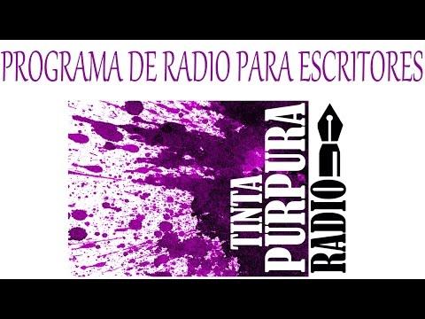 Programa de radio online para escritores (Tinta Púrpura)