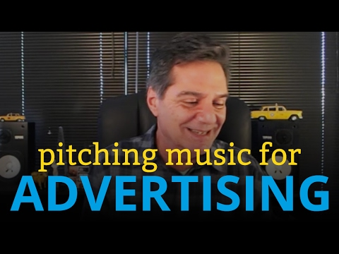 Pitching Music for TV Commercials and Advertising