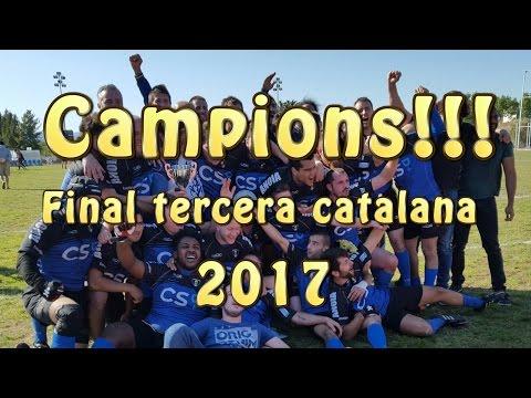Anoia Rugby Club Final tercera catalana  2017