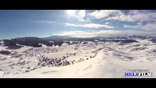 Selo Lukavac, Bjelasnica 2015 (Zima) - Snimci iz zraka - Aerial Footage