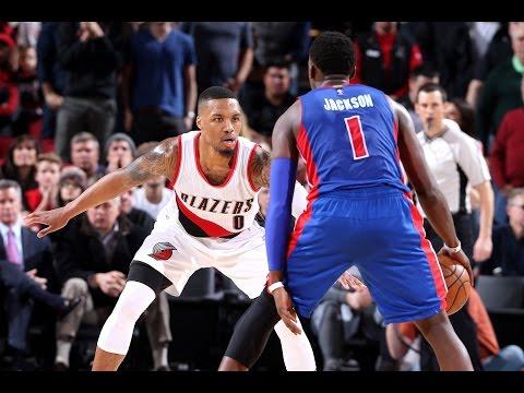 Double OT Thriller In Portland! Pistons VS Trailblazers  |   1.08.17