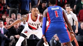 Double OT Thriller In Portland! Pistons VS Trailblazers  |   1.08.17