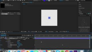 Create an Animation in After Effects and render it using BodyMovin