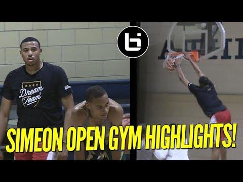 Simeon Open Gym Highlights! Talen Horton Tucker, New Transfers Shine!