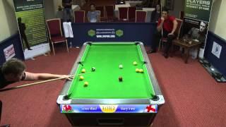 Ward -v- Irwin, Pool, IPA Tour Nottingham