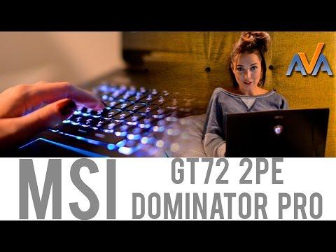 Геймерский ноутбук MSI GT72 Dominator Pro обзор от AVA.ua