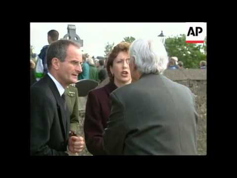 IRELAND: FUNERAL OF 3 YOUNGSTERS KILLED IN OMAGH BOMBING