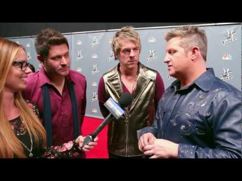 """Rascal Flatts Debut """"Change"""" On 'The Voice'- Interview"""