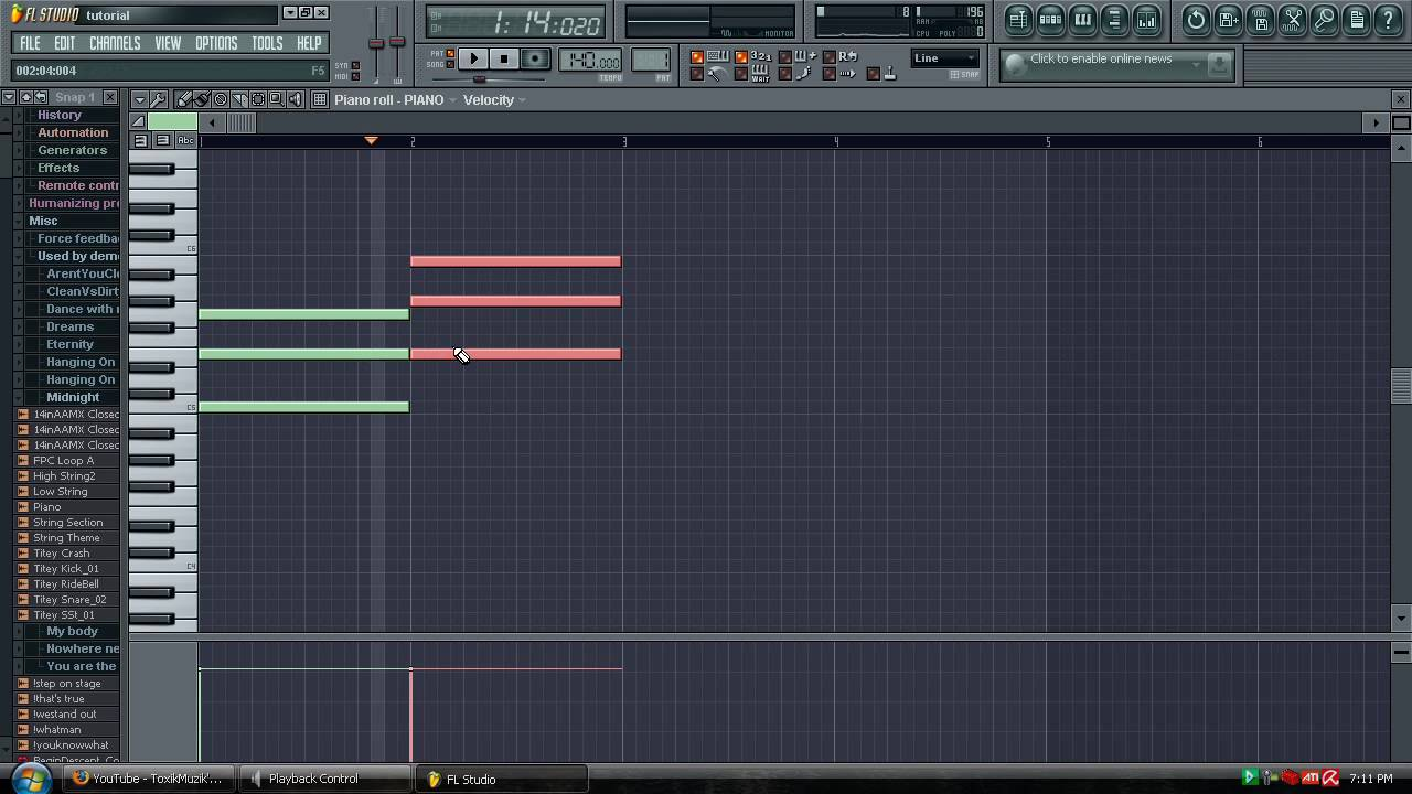 fl studio tutorial how to create chords for a song youtube. Black Bedroom Furniture Sets. Home Design Ideas