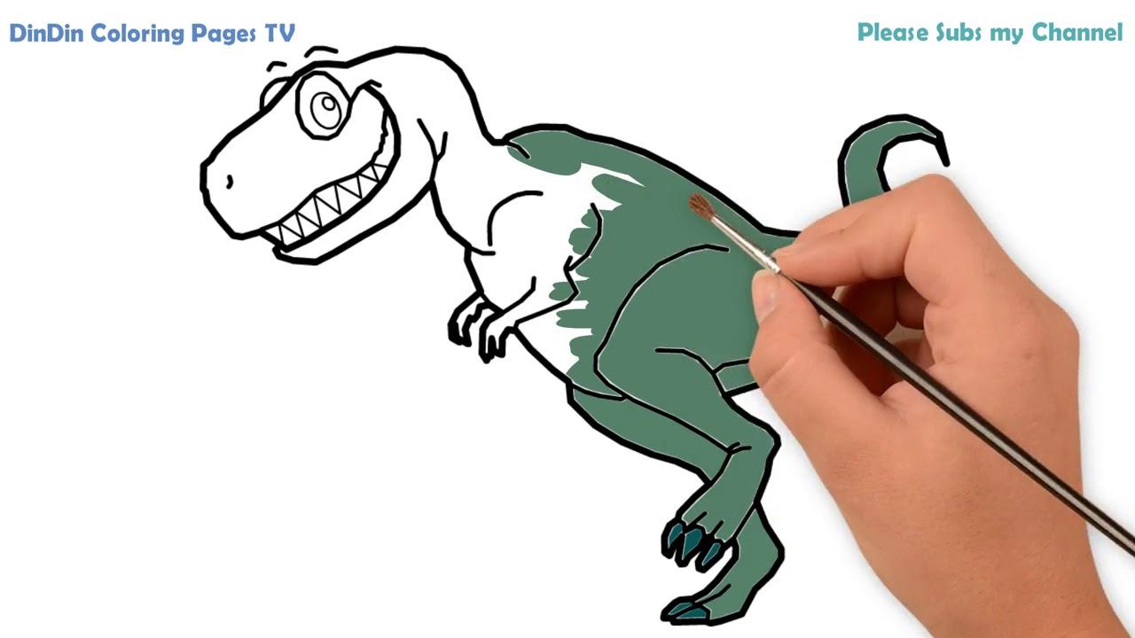 wie zeichnet man dinosaurier für kinder  malvorlagen für