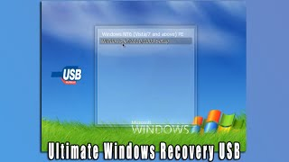 Ultimate Windows Recovery USB