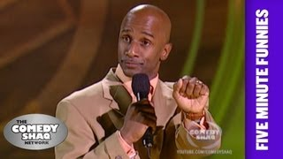 Damon Williams⎢Gas prices are ridiculous!⎢Shaq's Five Minute Funnies⎢Comedy Shaq