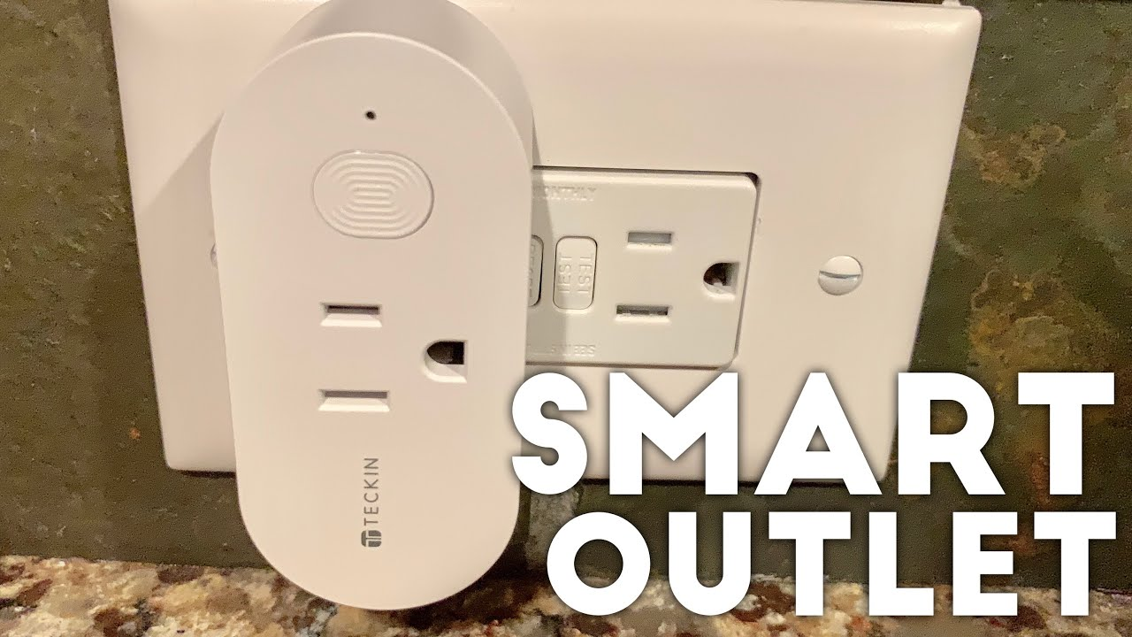 Turn Your Home into a Smart Home with these Wifi Smart Plug Outlets by T  Teckin